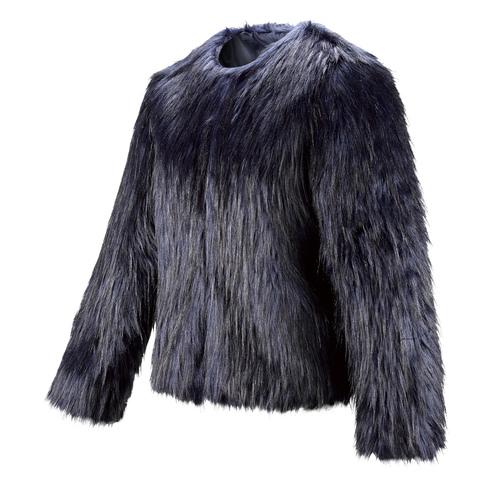 Pelliccia blu da donna bata, viola, 979-9173 - 16