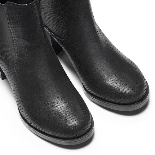 Chelsea Boots con tacco bata, nero, 799-6234 - 15