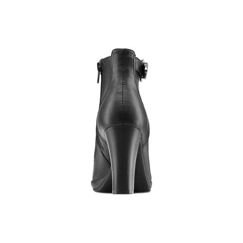 Stivaletti da donna in similpelle bata, nero, 791-6240 - 16