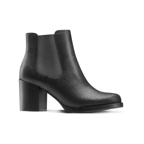 Chelsea Boots con tacco bata, nero, 799-6234 - 13