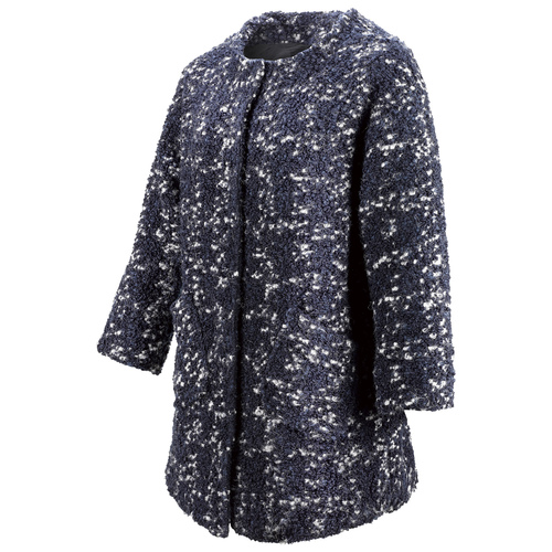 Cappotto in lana da donna bata, viola, 979-9124 - 16