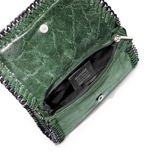 Tracolla con dettaglio catena bata, verde, 964-7278 - 16