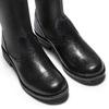 Stivali alti da donna bata, nero, 594-6713 - 15