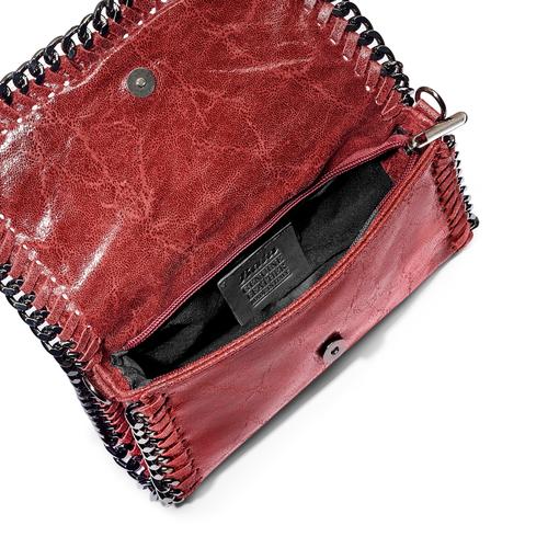 Borsa tracolla Made in Italy bata, rosso, 964-5278 - 16