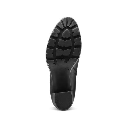 Stivaletti da donna con fibbia bata, nero, 794-6300 - 17