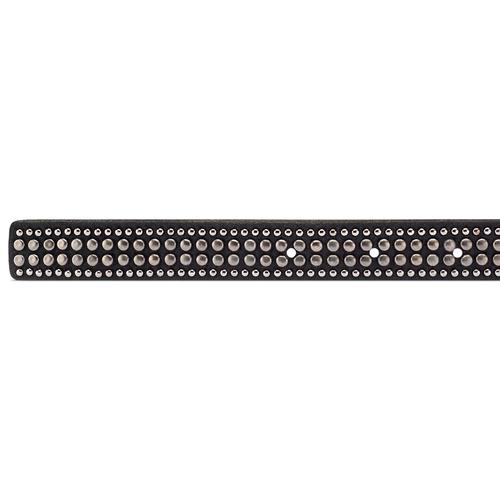 Cintura da donna con borchie bata, nero, 959-6335 - 16