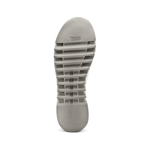 Sneakers calzino da donna bata, grigio, 549-2207 - 19