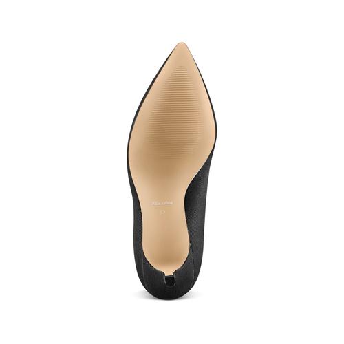 Stivaletti calzino con tacco bata, nero, 799-6267 - 19
