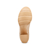 Stivaletti in suede con fibbia bata, beige, 799-8247 - 19