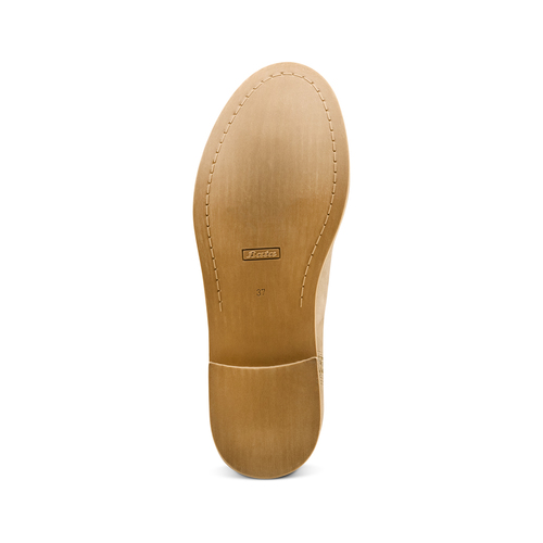 Ankle boots con fibbia bata, beige, 599-8691 - 19