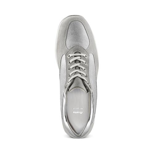 Sneakers alla caviglia da donna bata, grigio, 523-2306 - 17