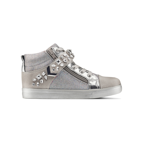 Sneakers alte da bambina mini-b, 329-2301 - 26