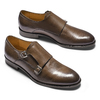 Monk in vera pelle bata-the-shoemaker, marrone, 814-4130 - 19