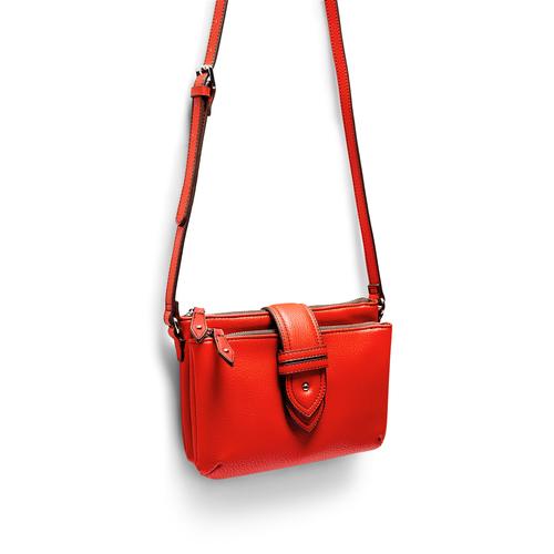 Tracolla da donna bata, rosso, 961-5215 - 17