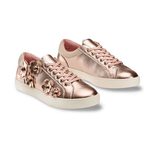 Sneakers con dettagli floreali bata, 541-0166 - 16