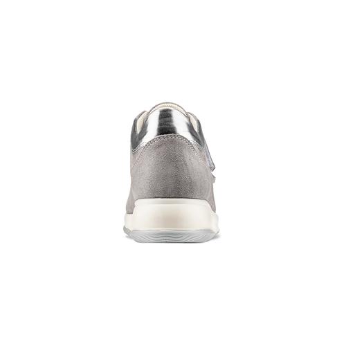 Scarpe casual da donna bata, grigio, 513-2202 - 15