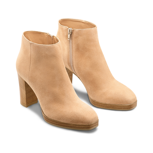 Ankle Boots in suede bata, 793-8250 - 16