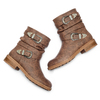 Stivaletti Western Inspired bata, marrone, 591-4794 - 26
