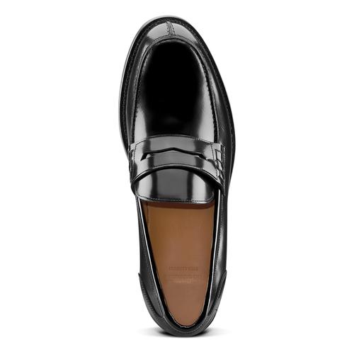 Mocassini in vernice da uomo bata-the-shoemaker, nero, 814-6117 - 15