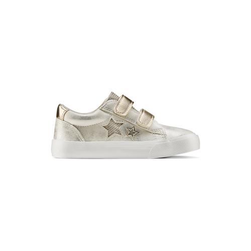 Sneakers basse con stelle mini-b, oro, 221-1218 - 26