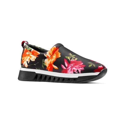 Sneakers senza lacci da donna bata, nero, 539-6123 - 13