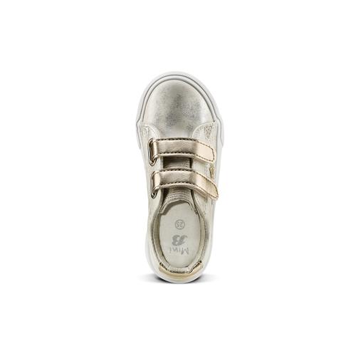 Sneakers basse con stelle mini-b, oro, 221-1218 - 15