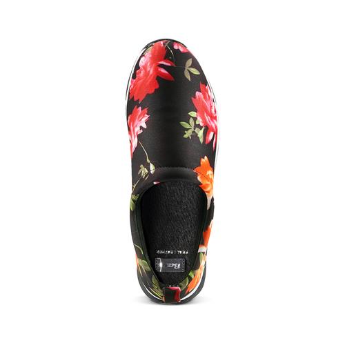 Sneakers senza lacci da donna bata, nero, 539-6123 - 17