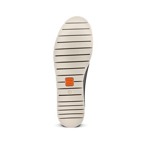Sneakers Flexible in pelle flexible, nero, 524-6199 - 19