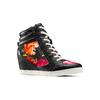 Sneakers con zeppa interna bata, nero, 729-6193 - 13