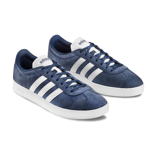 Adidas VL Court adidas, blu, 803-9379 - 16