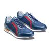 Sneakers in vera pelle da uomo bata, blu, 844-9142 - 16