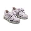 Sneakers con lacci in satin bata, grigio, 549-1202 - 16