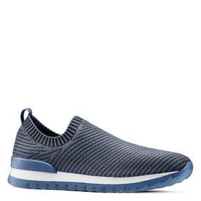 Scarpe da corsa senza lacci bata, blu, 839-9140 - 13