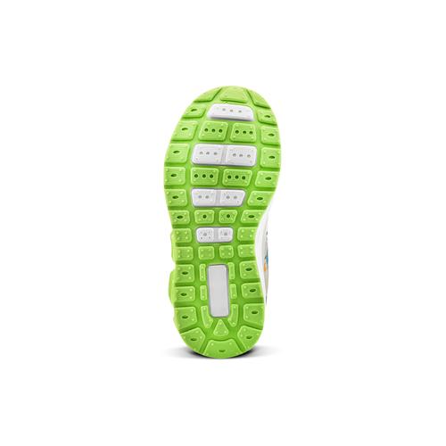 Sneakers da bambino con luci mini-b, grigio, 211-2102 - 17