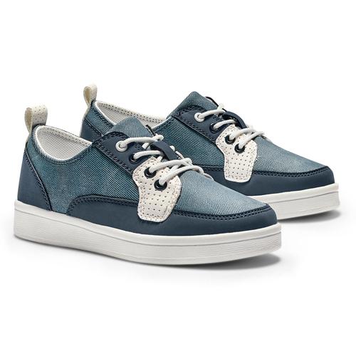 Sneakers casual da bambino mini-b, blu, 311-9146 - 26