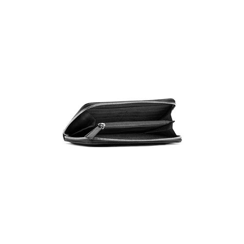 Portafoglio in similpelle bata, nero, 941-6157 - 16