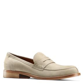 Mocassini in suede da uomo bata-the-shoemaker, beige, 813-3116 - 13