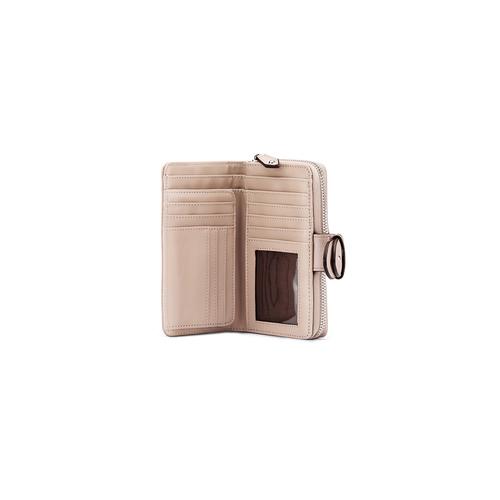Portafoglio da donna bata, beige, 941-8160 - 15