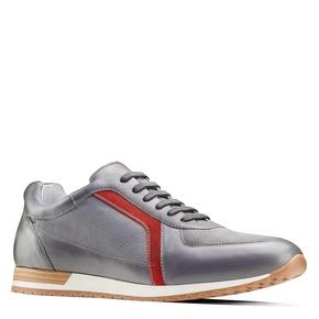 Sneakers in pelle da uomo bata, grigio, 844-2142 - 13