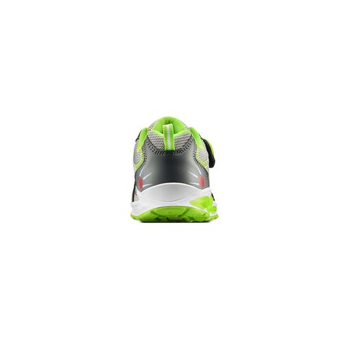 Sneakers da bambino con luci mini-b, grigio, 211-2102 - 16