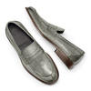 Mocassini in vera pelle bata-the-shoemaker, grigio, 814-2129 - 26