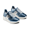 Sneakers in pelle Platform bata, blu, 624-9158 - 16