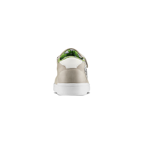 Sneakers basse da bambino mini-b, beige, 211-2191 - 16