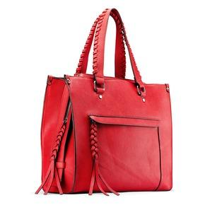 Shopper da donna bata, rosso, 961-5238 - 13