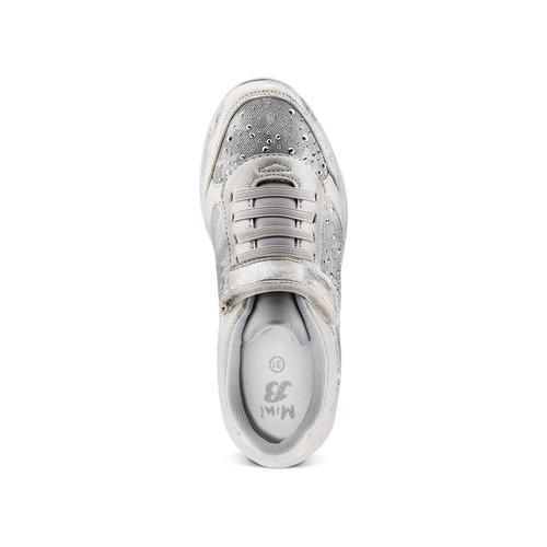 Sneakers da bimba mini-b, argento, 329-1348 - 17