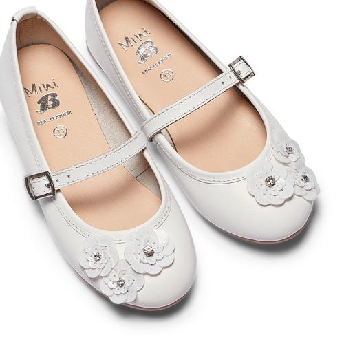 Ballerine da bambina mini-b, bianco, 324-1253 - 26