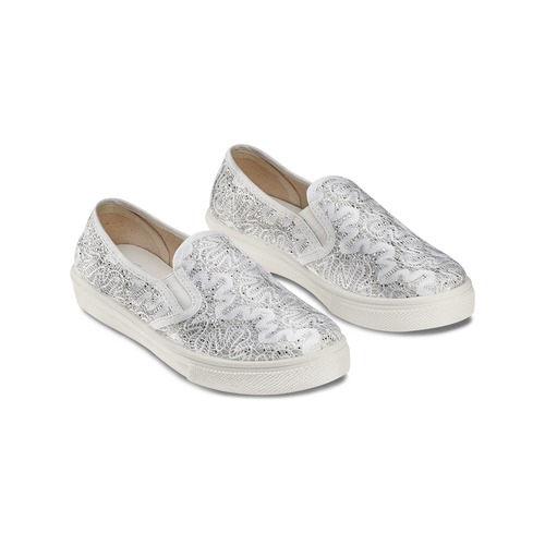 Slip on da bambina mini-b, argento, 329-1327 - 16
