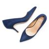 Décolleté Insolia insolia, blu, 729-9199 - 26