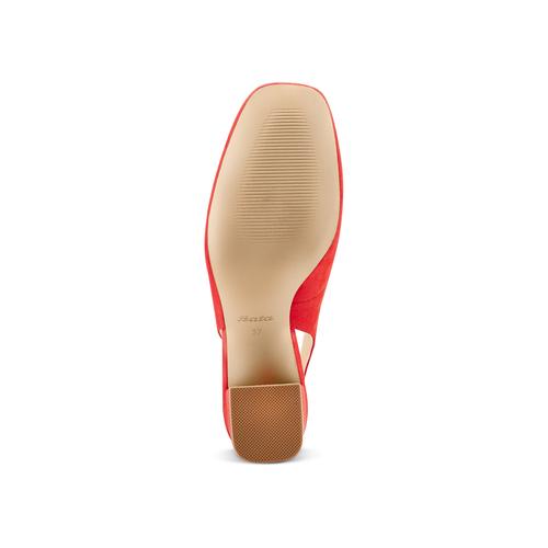 Sling Back Insolia con perline insolia, rosso, 729-5216 - 19