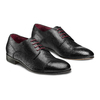 Stringate in vera pelle bata-the-shoemaker, nero, 824-6347 - 16